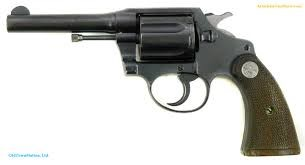 COLT Revolver POLICE POSITIVE SPECIAL BLUED