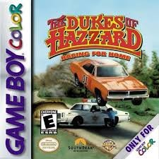 NINTENDO Vintage Game THE DUKES OF HAZZARD RACING FOR HOME
