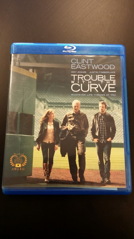 BLU-RAY MOVIE Blu-Ray TROUBLE WITH THE CURVE
