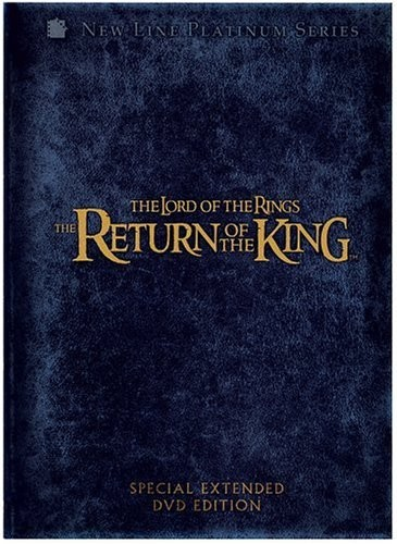 NEW LINE HOME ENTERTAINMENT DVD THE LORD OF THE RINGS THE RETURN OF THE KING