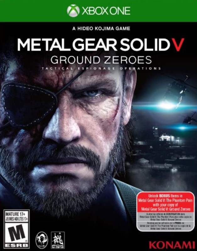 Xbox One: Metal Gear Solid V Ground Zero