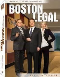 20TH CENTURY FOX DVD BOSTON LEGAL SEASON THREE