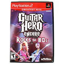 SONY Sony PlayStation 2 GUITAR HERO ENCORE ROCKS THE 80S