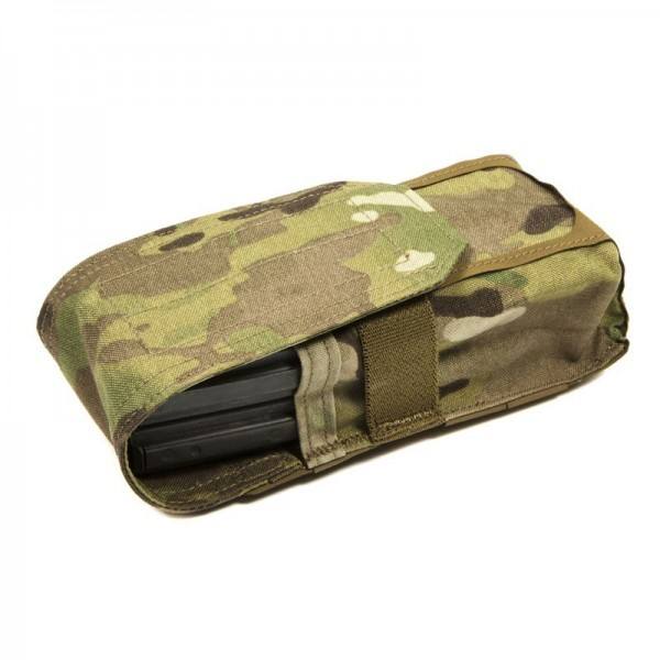 BLUE FORCE Accessories DOUBLE M4 MAGAZINE POUCH WITH FLAP
