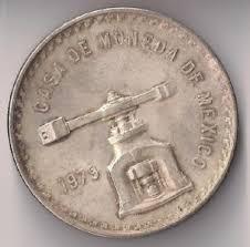 MEXICO Silver Coin 1979 UNA ONZA TROY DE PLATA PURA SILVER COIN