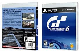 SONY Sony PlayStation 3 Game GRAND TURISMO 6