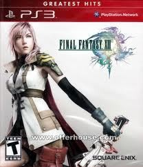 SQUARE ENIX Sony PlayStation 3 Game FINAL FANTASY XIII (GH)-PS3