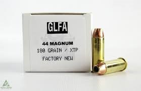 GREAT LAKES FIREARMS AND AMMUNITION Ammunition 44 MAGNUM 180GR XTP