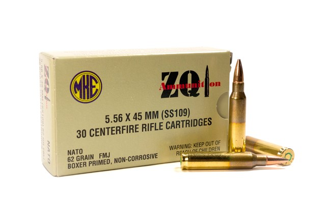 ZQ Ammunition 5.56 X 45 MM AMMUNITION