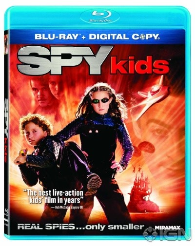 SPY KIDS, ALL THE TIME IN THE WORLD, BLU-RAY COMEDY MOVIE