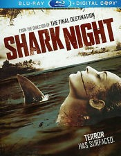 SHARKNIGHT, HORROR BLU-RAY DISC, 2-DISC SET,