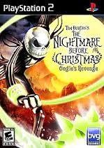 SONY Sony PlayStation 2 TIM BURTON'S THE NIGHTMARE BEFORE CHRISTMAS OOGIE'