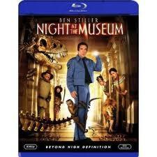NIGHT AT THE MUSEUM COMEDY BLU-RAY MOVIE, STARRING BEN STILLER