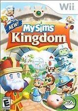 NINTENDO Nintendo Wii Game MY SIMS KINGDOM WII