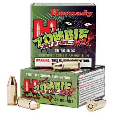 HORNADY Ammunition ZOMBIE MAX 9MM 115GR