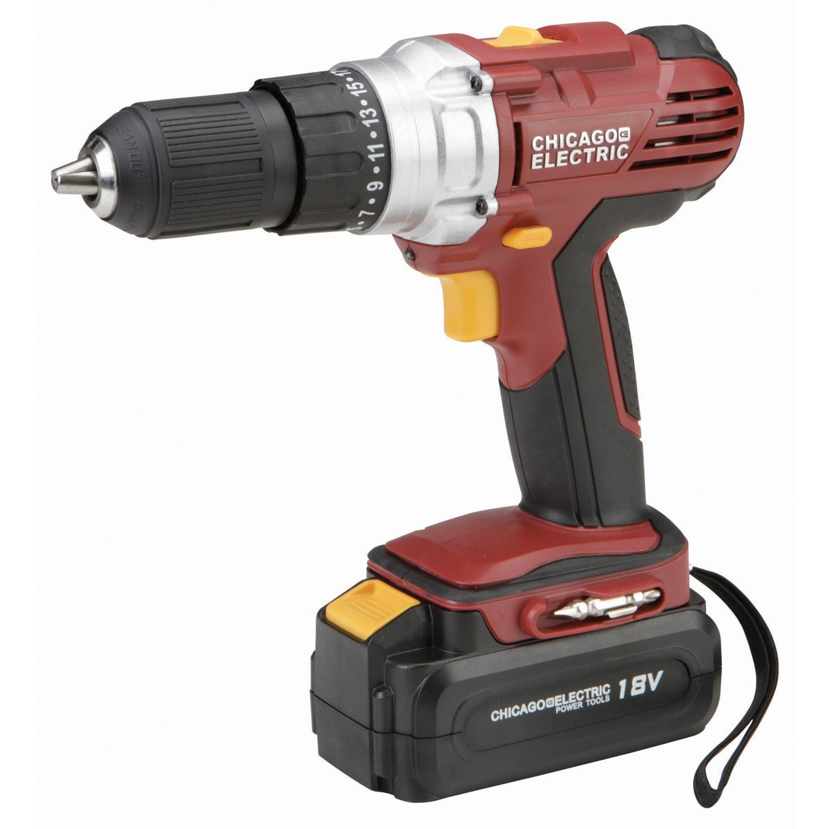 CHICAGO ELECTRIC Cordless Drill 68850
