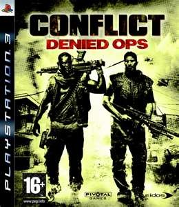 SONY Sony PlayStation 3 Game CONFLICT DENIED OPS PS3