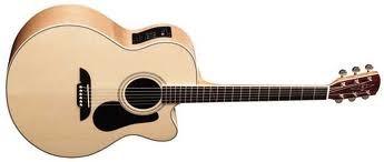 ALVAREZ Electric-Acoustic Guitar AJ-60SC NAT