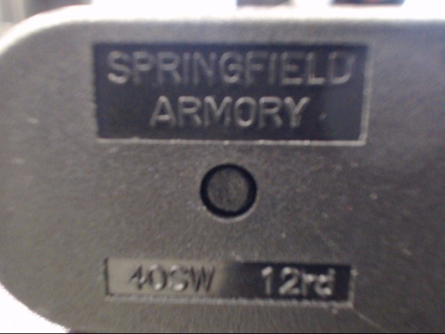 SPRINGFIELD ARMORY Accessories 40SW 12 RD MAGAZINE FOR XD-40