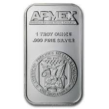 Silver Bullion ONE TROY OZ .999 SILVER BULLION