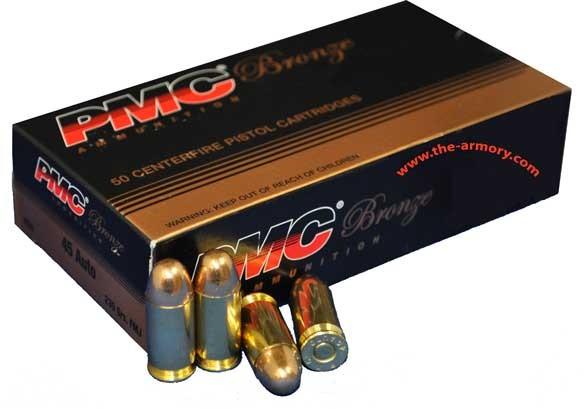 PMC AMMUNITION Ammunition 45 AUTO