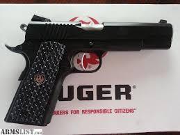 RUGER Pistol SR1911 NIGHTWATCHMAN