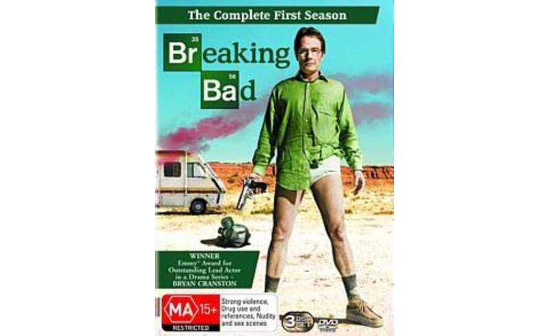 DVD BOX SET DVD BREAKING BAD SEASON 1
