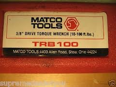 MATCO TOOLS Torque Wrench TRB100