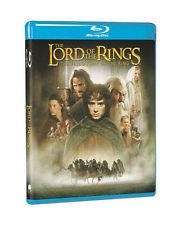 BLU-RAY MOVIE LORD OF THE RINGS THE FELLOWSHIP OF THE RING