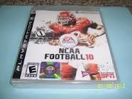 SONY Sony PlayStation 3 Game NCAA FOOTBALL 10