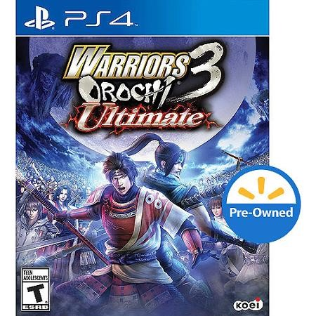 SONY Sony PlayStation 4 Game WARRIORS OROCHI ULTIMATE