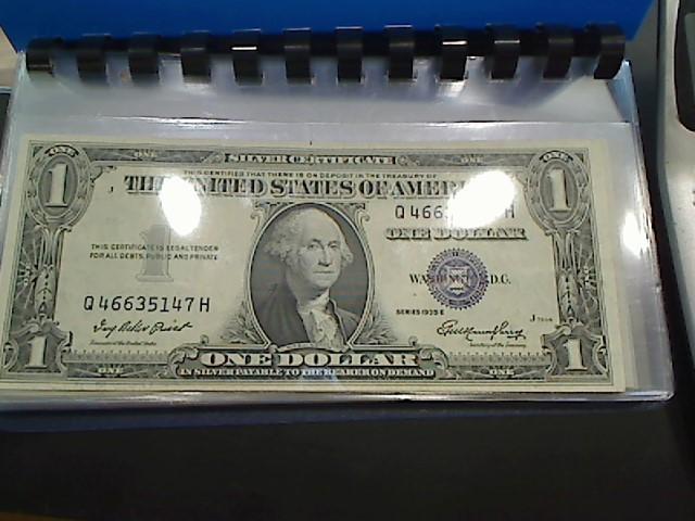 UNITED STATES Paper Money - World 1 DOLLAR BILL