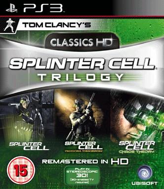 SONY Sony PlayStation 3 Game TOM CLANCY'S SPLINTER CELL TRILOGY