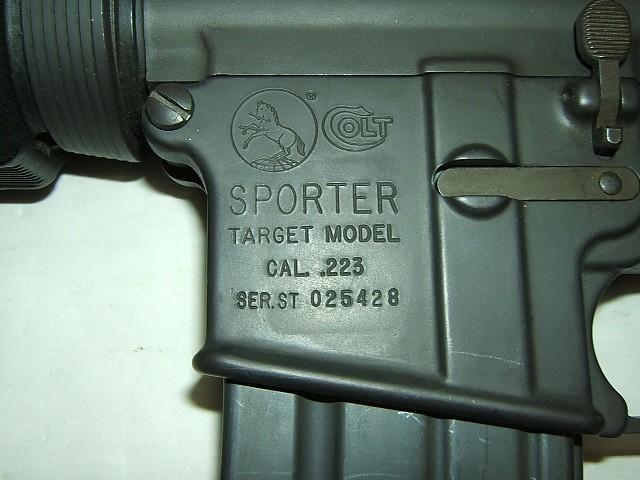 COLT Rifle SPORTER TARGET