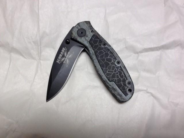 SCHRADE Pocket Knife LARGE LINER LOCK