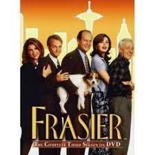 CBS PARAMOUNT DVD FRASIER THE COMPLETE THIRD SEASON