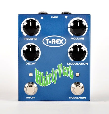 TREX Effect Equipment WHIRLY VERB