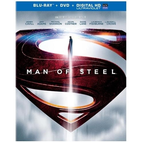 BLU-RAY MOVIE Blu-Ray MAN OF STEEL