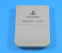 SONY Video Game Accessory SCPH-1020 PS1 MEMORY CARD
