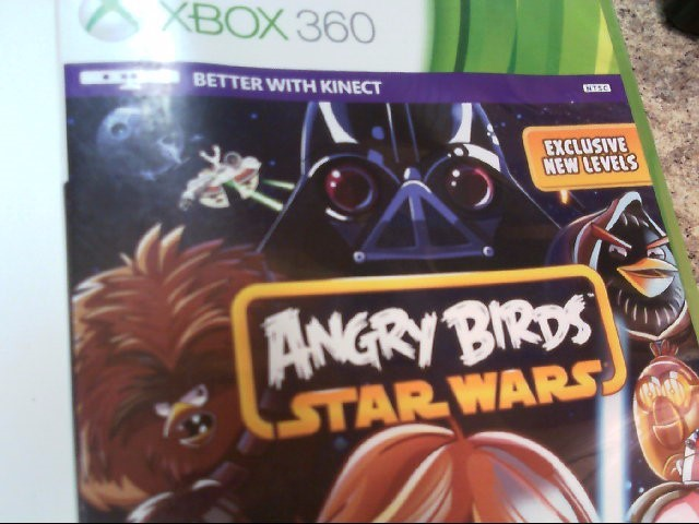 MICROSOFT Microsoft XBOX 360 Game XBOX360 ANGRY BIRDS STAR WARS