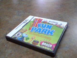NINTENDO Nintendo DS Game SIX FLAGS FUN PARK
