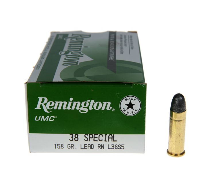 REMINGTON FIREARMS & AMMO Ammunition 38 SPECIAL 158 GR BULLETS