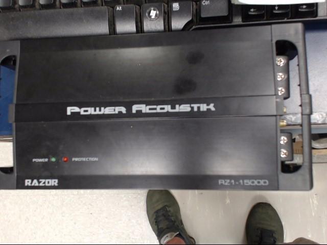 POWER ACOUSTIK Car Speakers/Speaker System RZ1-1500D