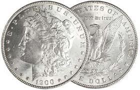 UNITED STATES Silver Coin 1900 MORGAN SILVER DOLLAR