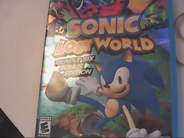 NINTENDO Nintendo Wii U Game SONIC LOST WORLD WII U