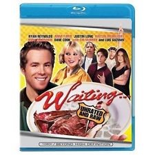 BLU-RAY MOVIE Blu-Ray WAITING UNRATED AND RAW