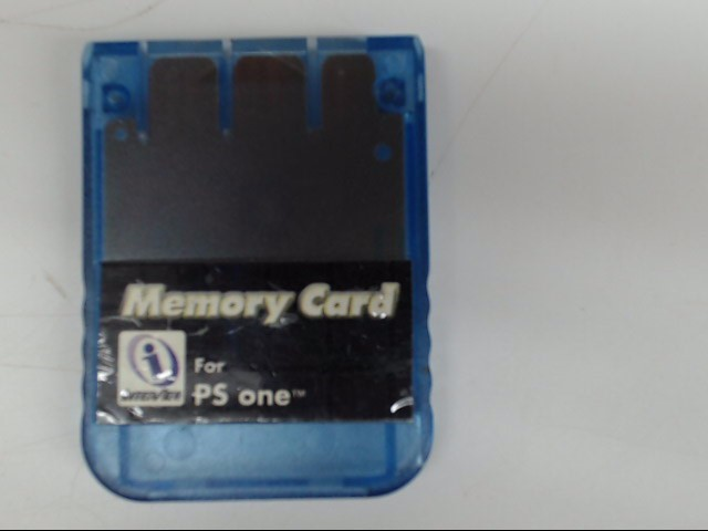 INTERACT Video Game Accessory PS ONE MEMORY CARD