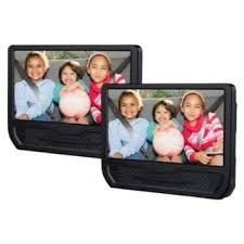 "RCA Dual 9"" Screen Mobile DVD Player Black DRC79981E"