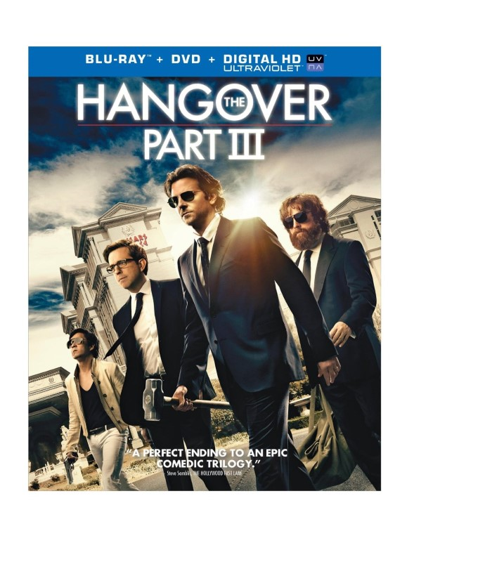 THE HANGOVER PART III, COMEDY BLU-RAY MOVIE