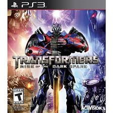SONY Sony PlayStation 3 Game TRANSFORMERS RISE OF THE DARK SPARK PS3